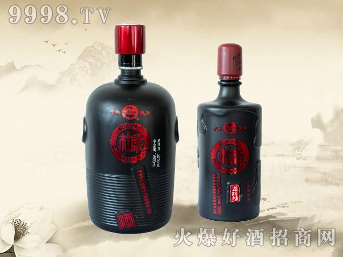 白水杜康酒益粮坊(黑坛装)