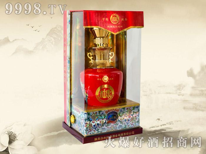 白水杜康酒益粮坊500ml(红瓷)
