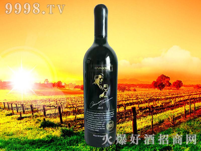 龙骑仕干红葡萄酒2015