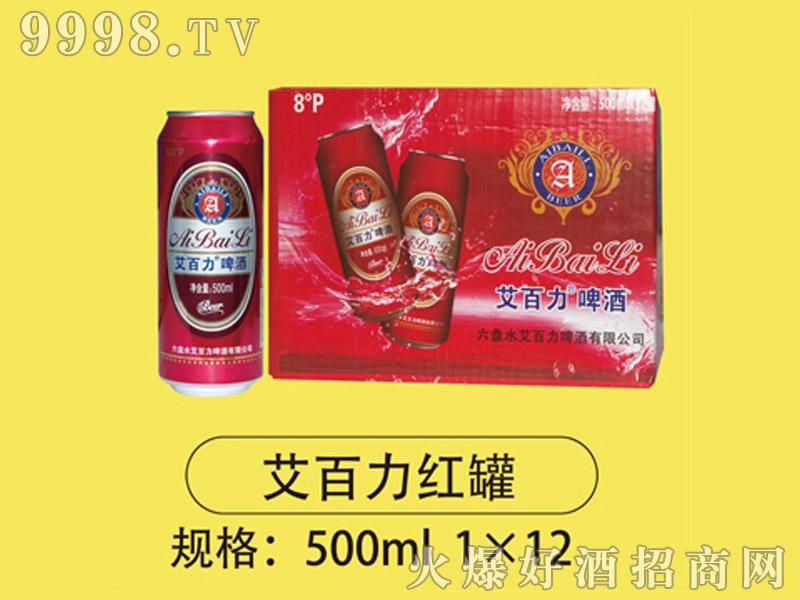 艾百力红罐500mlx12