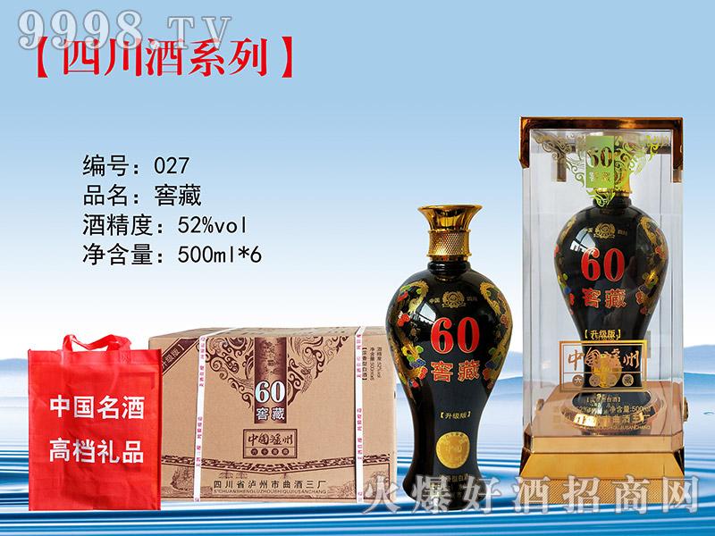 百年老窖酒窖藏60(升级版)