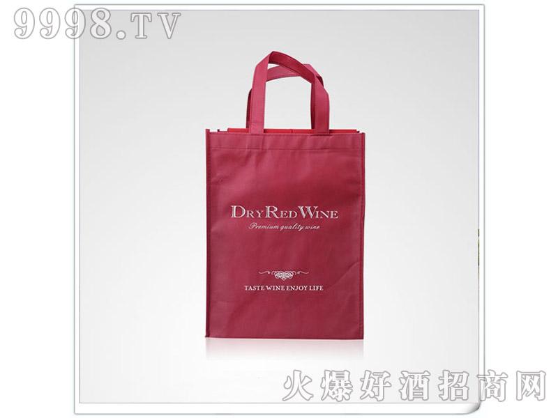 酒红白酒手提袋
