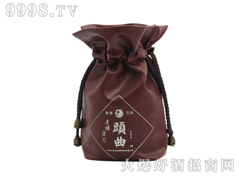 青稞头曲皮革酒袋