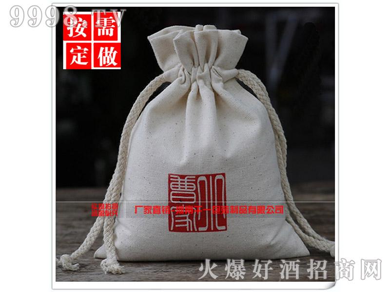 棉布抽绳束口袋礼品袋