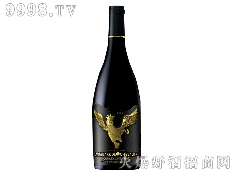 拉格德克古堡金马干红葡萄酒