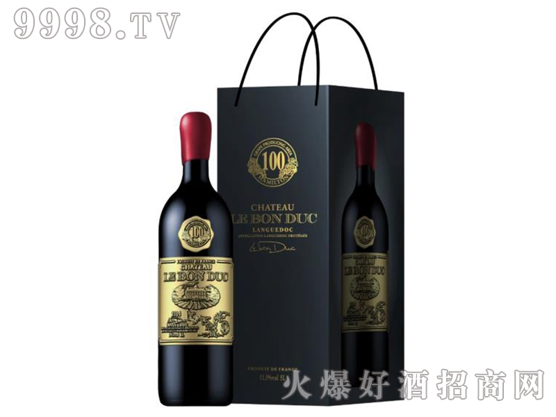 马赛里干红葡萄酒3L