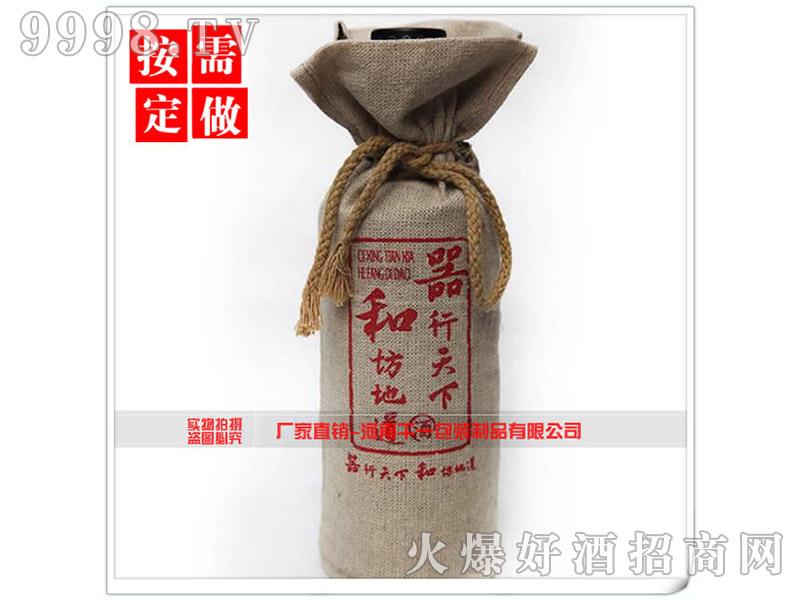 抽绳麻布酒布袋包装-机械包装信息