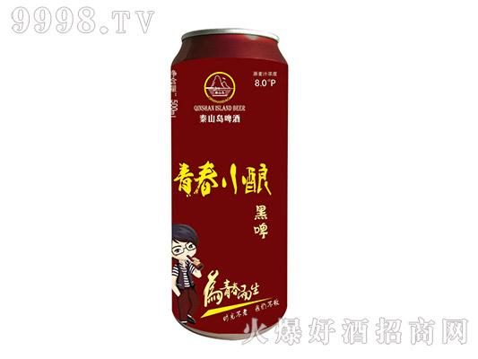 秦山岛啤酒・青春小酿黑啤