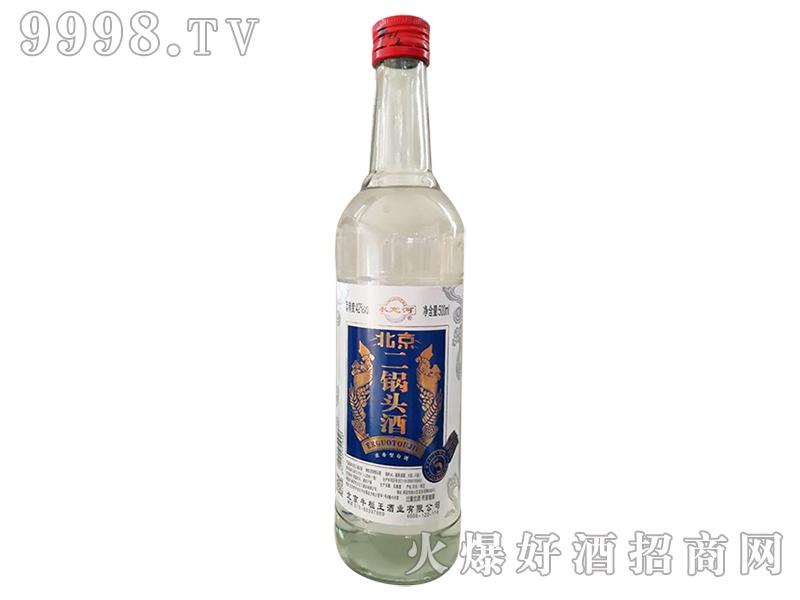 北京二锅头酒蓝标