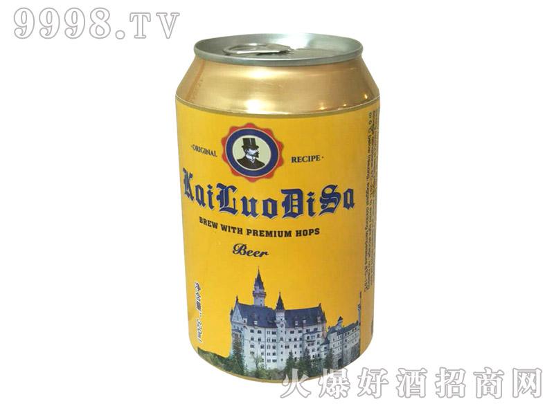 凯罗蒂萨啤酒(黄罐)