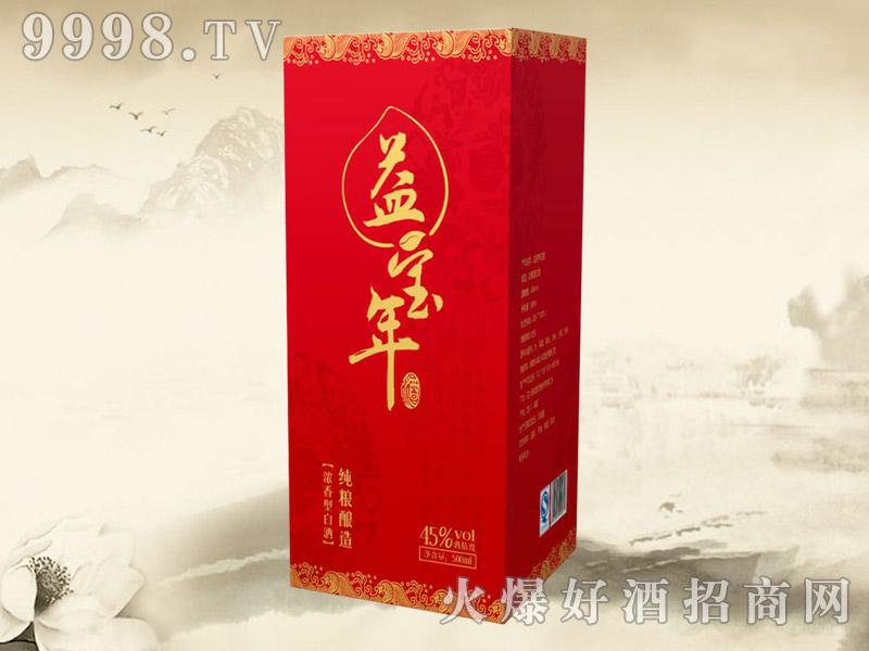 益宝年酒纯粮酿造45°(红)