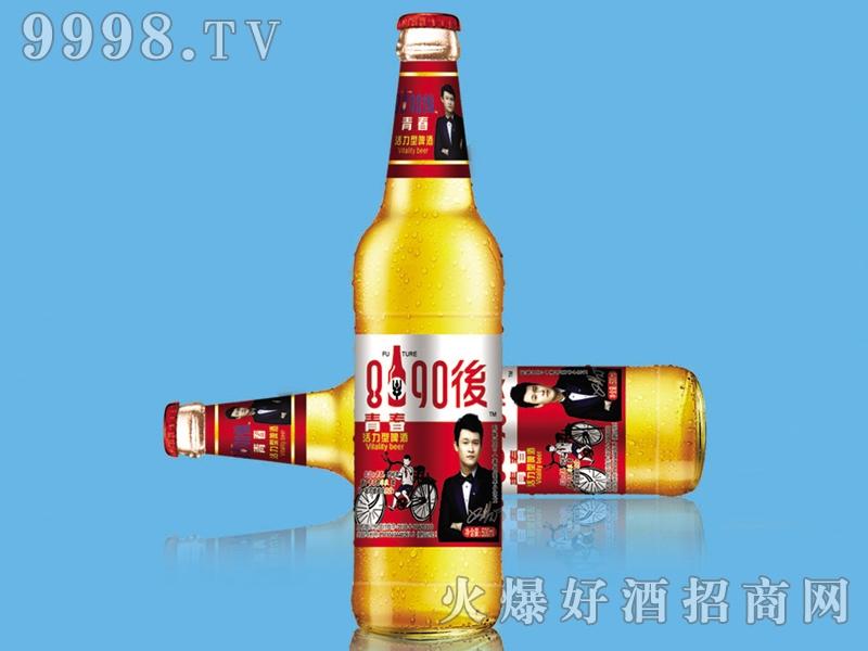 8090后啤酒・青春活力红标500ml