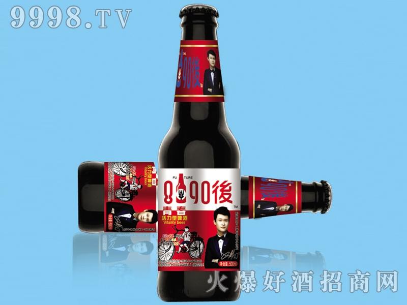 8090后啤酒・青春活力红标330ml