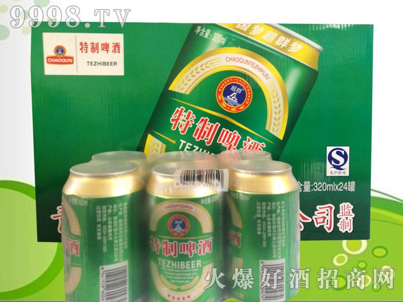 超群啤酒320ml(六连包)
