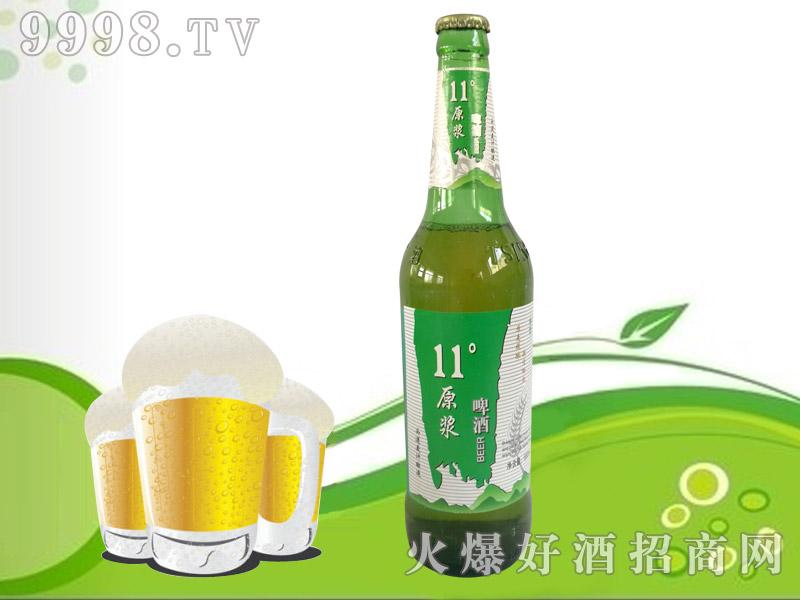 赛雪11℃原浆啤酒600mlx9