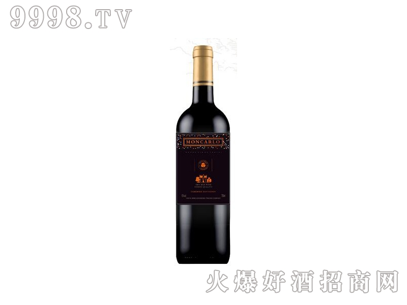 蒙卡露庄园●赤霞珠干红葡萄酒