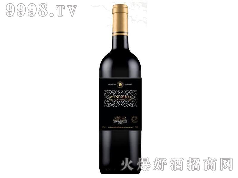 蒙卡露庄园●美乐干红葡萄酒
