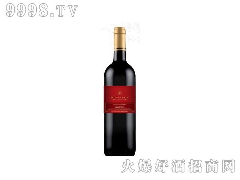 蒙卡露庄园●美乐干红葡萄酒1