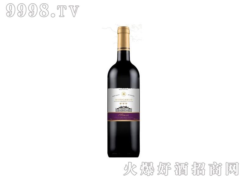 蒙卡露庄园-美乐干红葡萄酒
