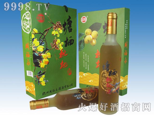 同福永塘栖枇杷酒(磨砂瓶)