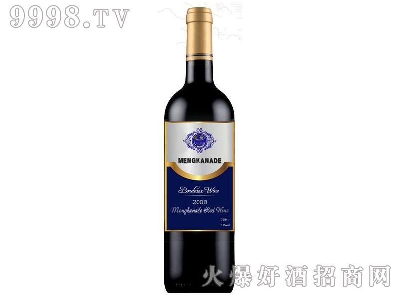 蒙卡纳德干红葡萄酒