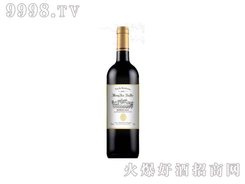 蒙卡纳德干红葡萄酒2