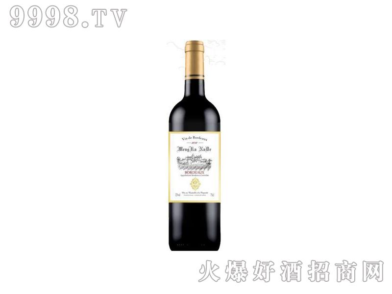 蒙卡纳德干红葡萄酒白