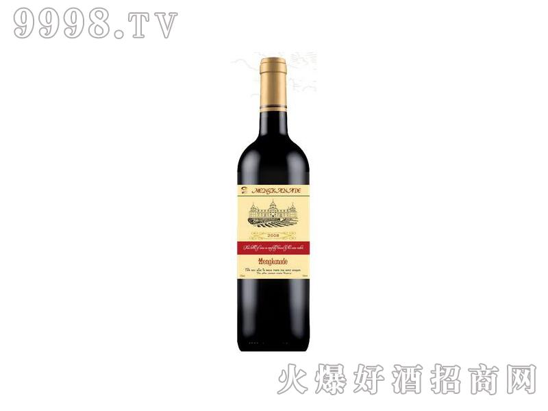 蒙卡纳德干红葡萄酒红