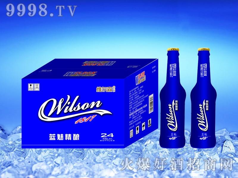 维尔森精酿啤酒蓝魅330ml