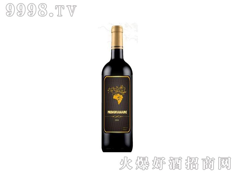 蒙卡纳德干红葡萄酒灰