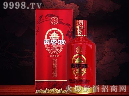 贡枣液酒红花瓷