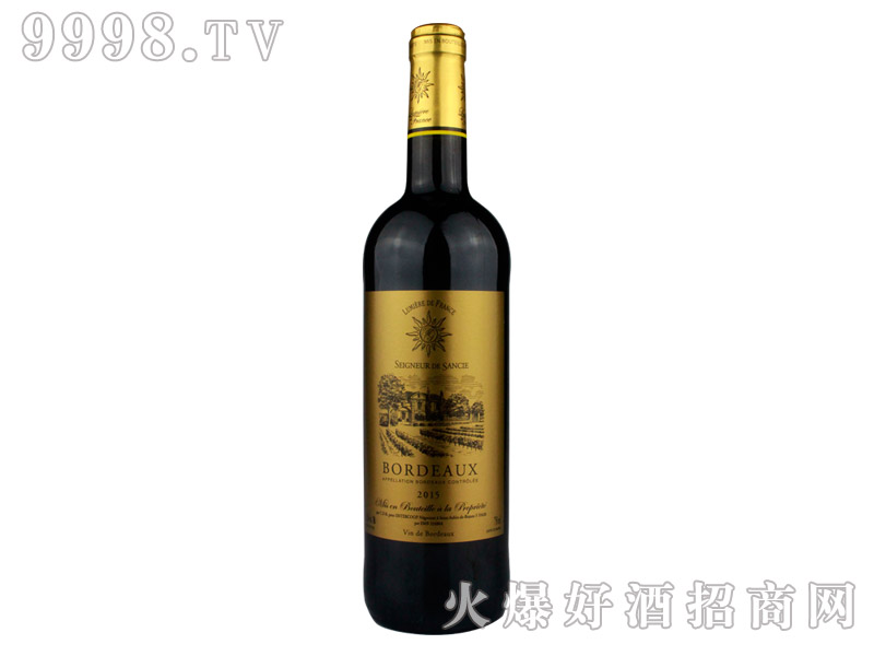 法国之光・波尔多干红葡萄酒-红酒招商信息