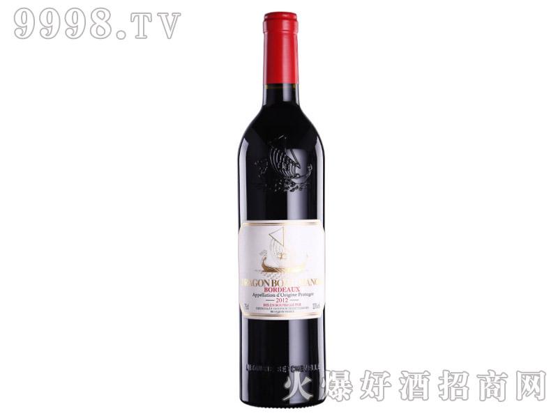 法国龙船干红葡萄酒金标2012