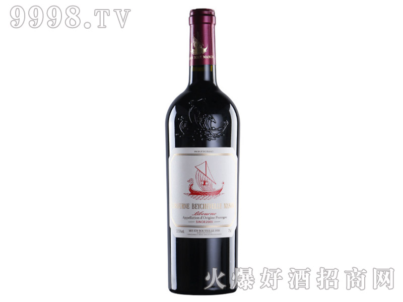 法国利布尔纳龙船酒庄09年干红葡萄酒