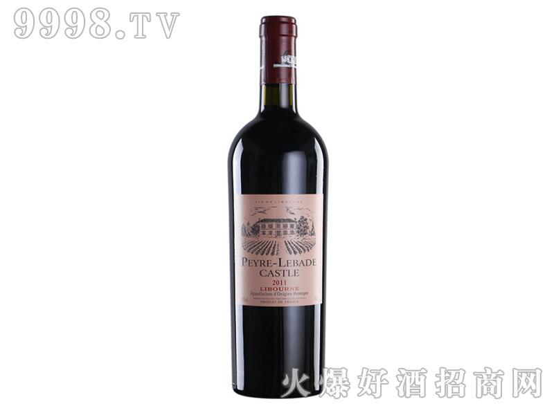 法国利布尔纳拉菲岩石古堡干红葡萄酒750ML