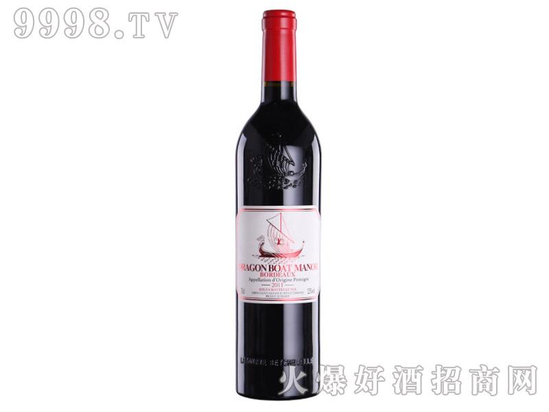 法国龙船干红葡萄酒AOP利布尔纳酒