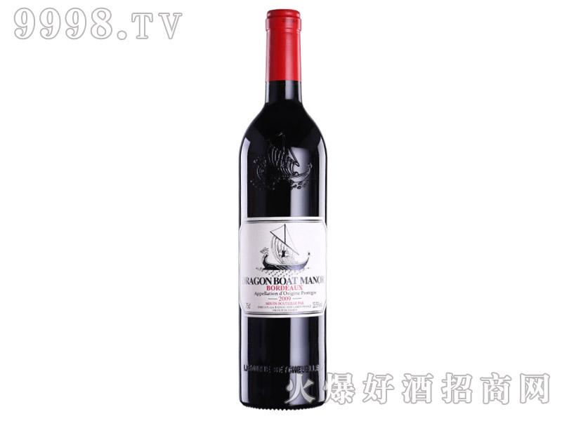 法国龙船干红葡萄酒AOP利布尔纳