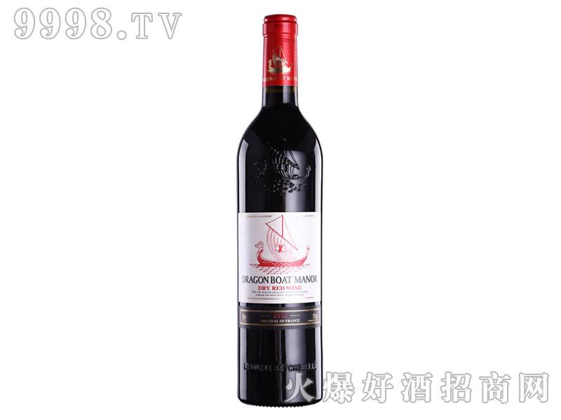 法国龙船干红葡萄酒750ml