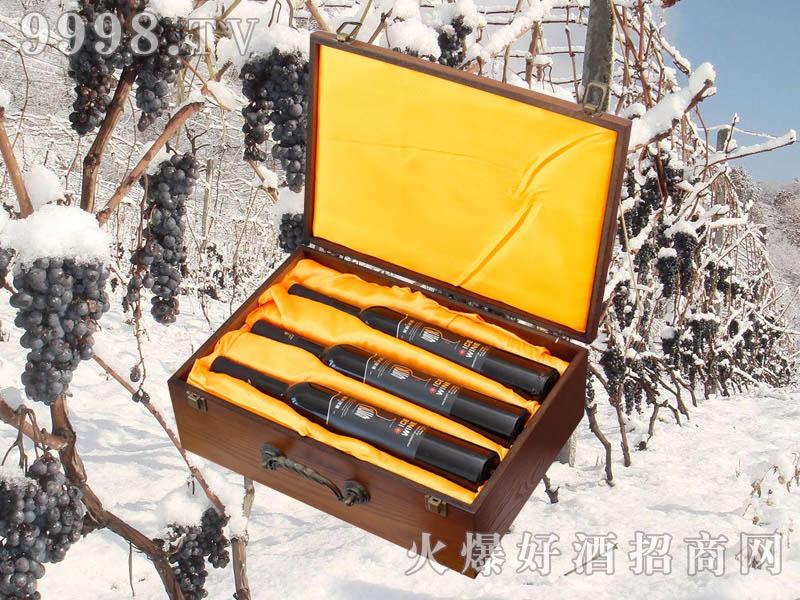 紫桐冰纯冰红葡萄酒(箱)