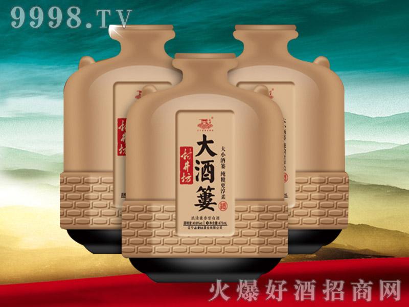 村井坊大酒篓新品40.8度475ml-白酒招商信息