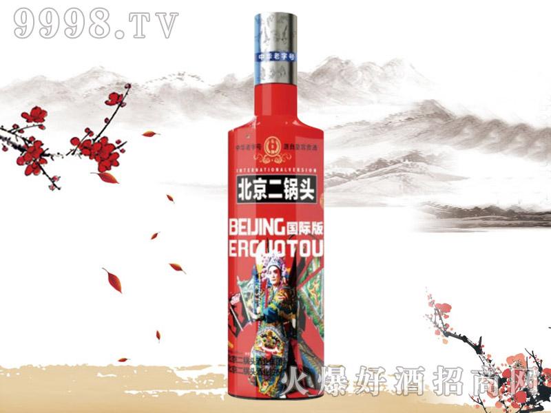 北京二锅头酒国际版(红)