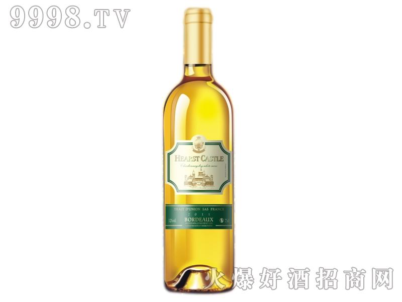 赫氏古堡莎当妮干白葡萄酒