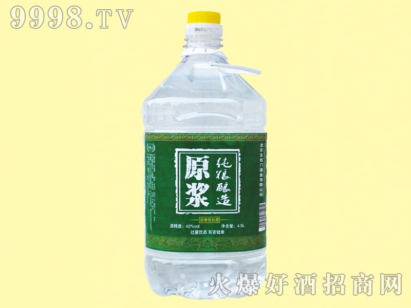 京虹门原浆酒桶装