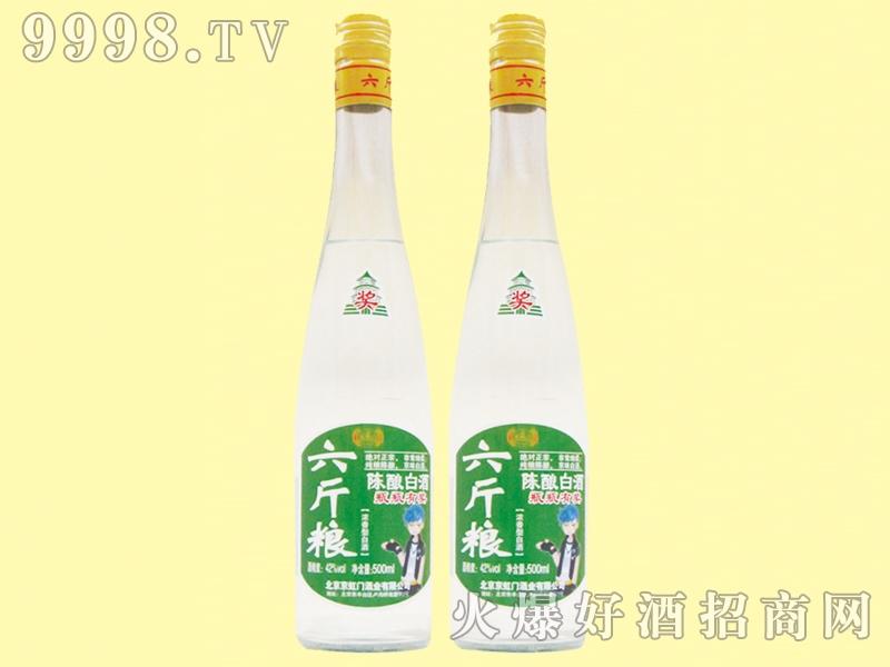 京虹门六斤粮陈酿白酒42度500ml