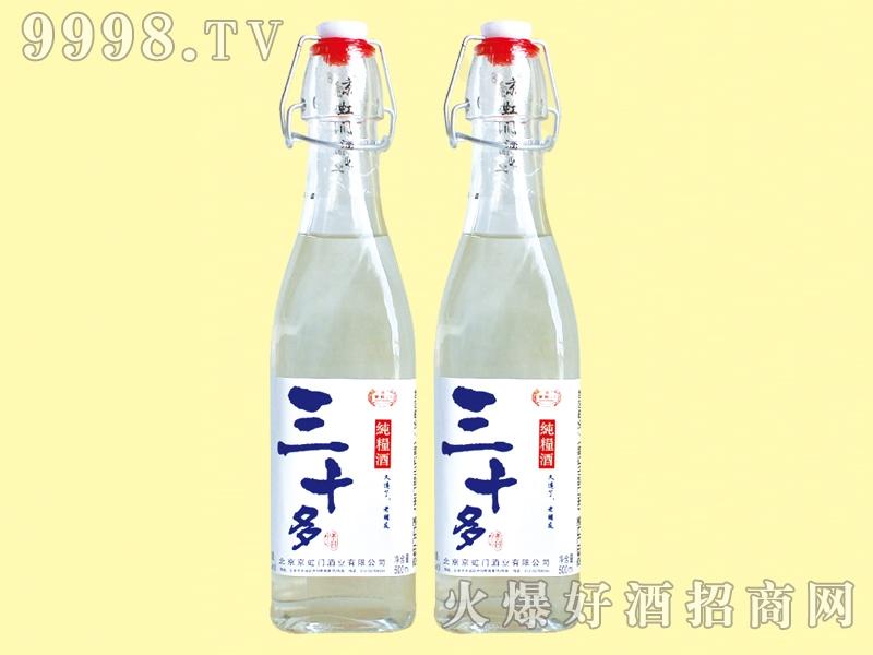 京虹门三十多纯粮酒