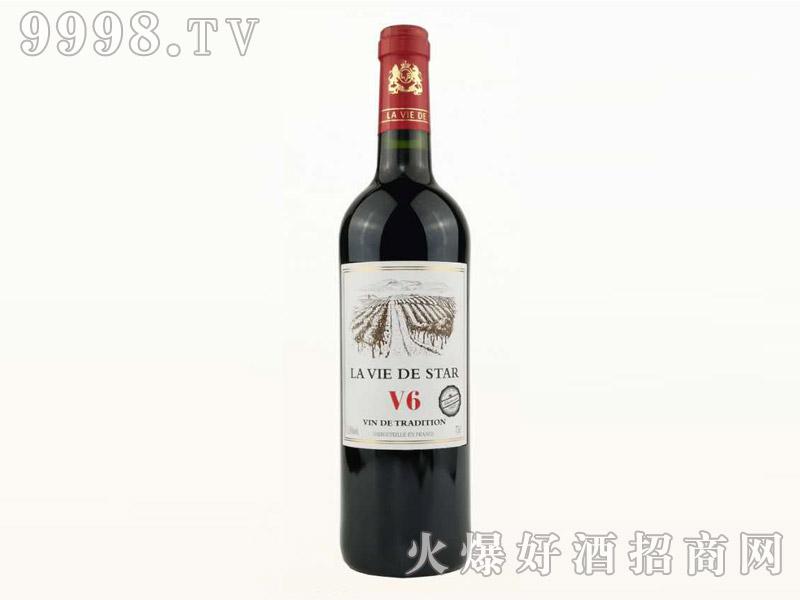 拉维之星V6干红葡萄酒