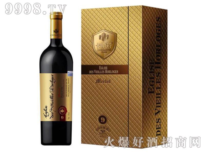 卡斯特·戴维斯美洛干红葡萄酒