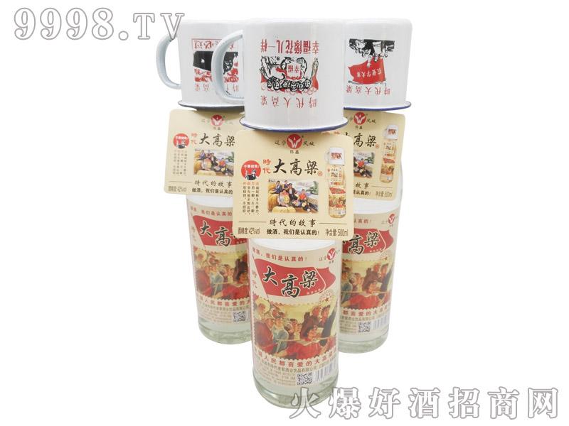 凤城时代大高粱酒500ml--42