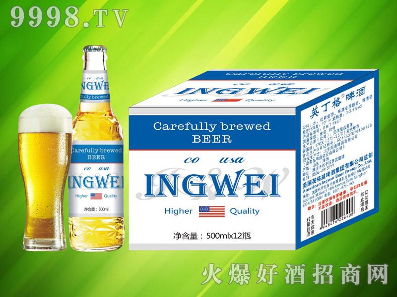 美国英格威精酿啤酒500ml×12瓶(蓝)