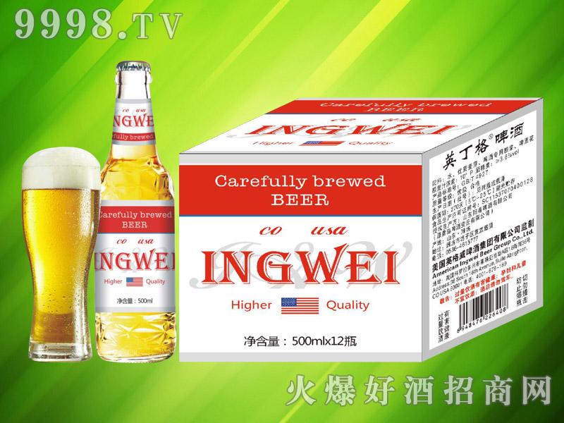 美国英格威精酿啤酒500ml×12瓶(红)